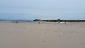 La belle plage de la Grande Échouerie